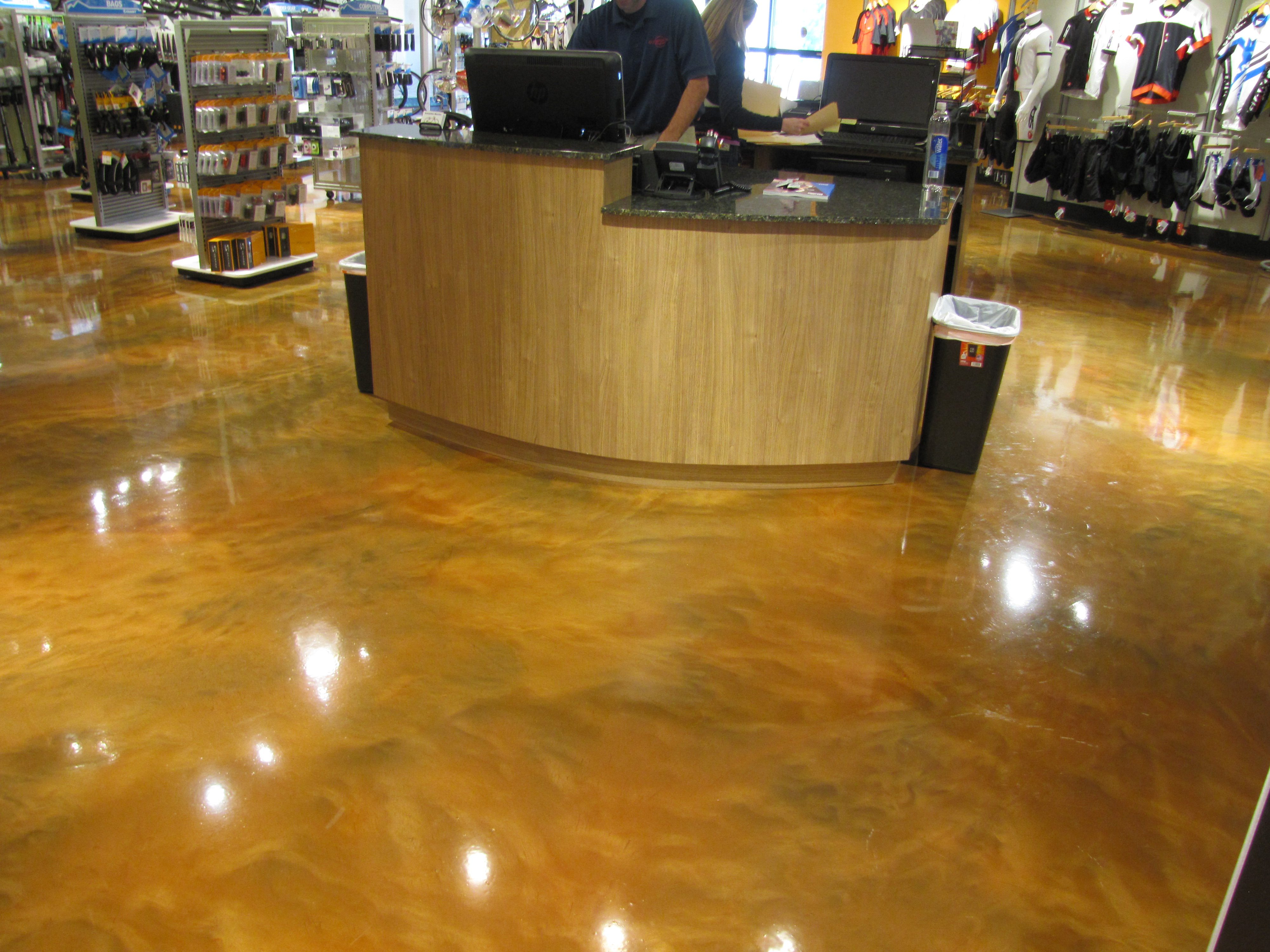 Commercial Flooring Concrete Coatings Polyasartic